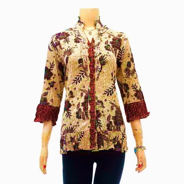 Foto Baju Batik Wanita