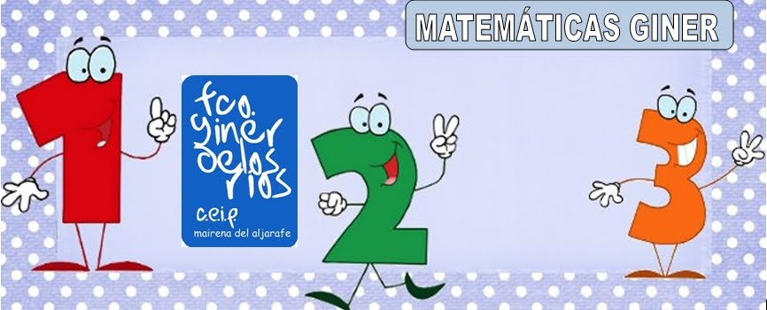 MATEMÁTICAS GINER