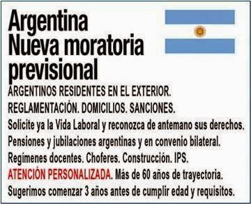 Nueva Moratoria Previsional argentina en España