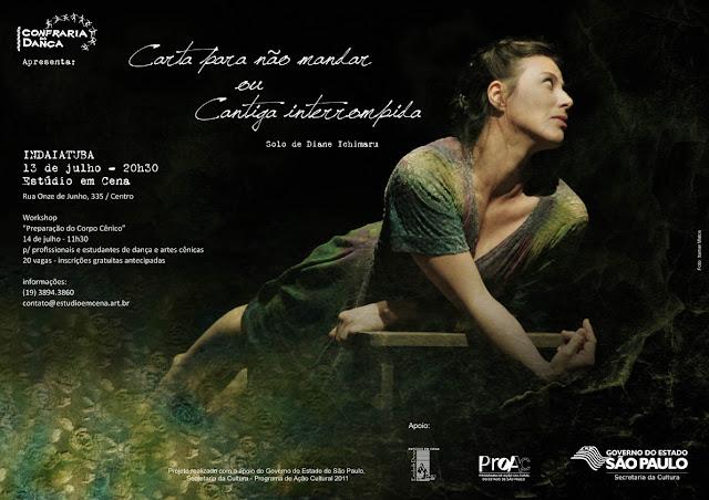 Projeto realizado com o apoio do Governo do Estado de São Paulo, Secretaria da Cultura - Programa de Ação Cultural 2011