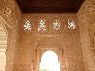 Nasrid Palace, Alhambra Palace in Granada