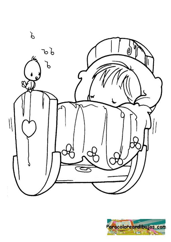 Para colorear dibujo de niño en bicicleta