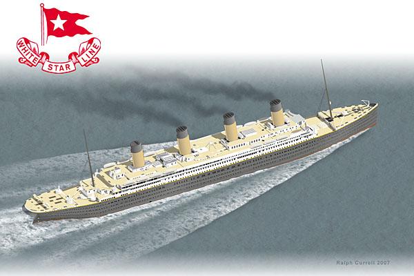 Paper Crafting Titanic Ship Papercraft