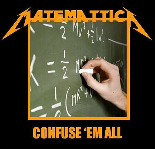 confuse them all, a parody to kill them all, metallica album