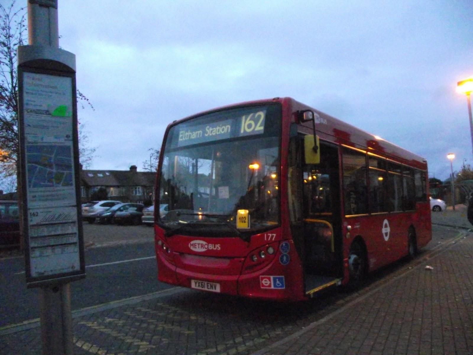 tom london & surrey bus blog: strange turns on route 162