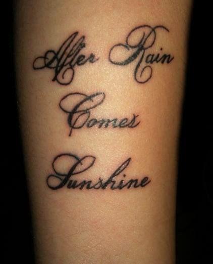 Beautiful Tattoos Tattoo Lettering
