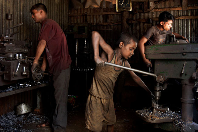short essay about child labour