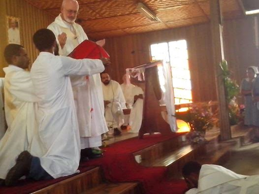SOLT News: New SOLT Priest Ordained in Papua New Guinea Today