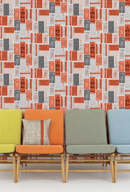 Wallpaper by Mini Moderns