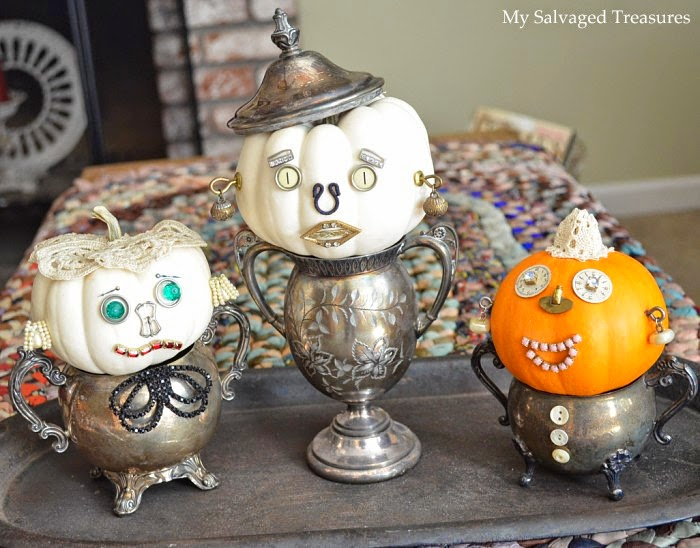 Chipping with Charm: My Salvaged Treasures Sugar Bowl Cuties...http://www.chippingwithcharm.blogspot.com/