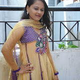 Usha Photos in Salwar Kameez at Gundello Guchi Guchi Champake Movie Press Meet 14