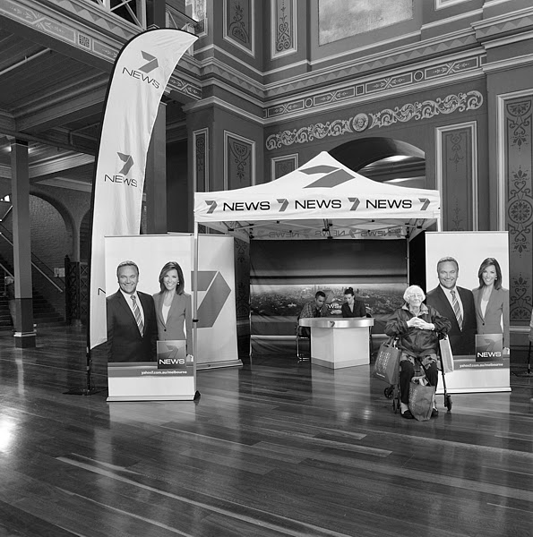 7News,  Flower and Garden Show Exhibition Building, Melbourne