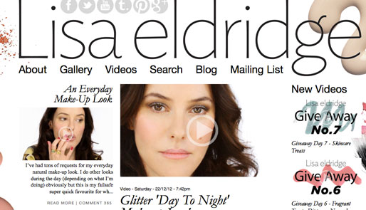 style of your own blog, lisa eldridge, lisa eldridge makeup artist, youtube guru