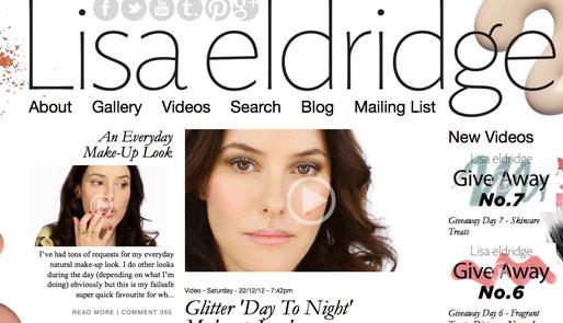 style of your own blog, lisa eldridge, lisa eldridge makeup artist, youtube guru