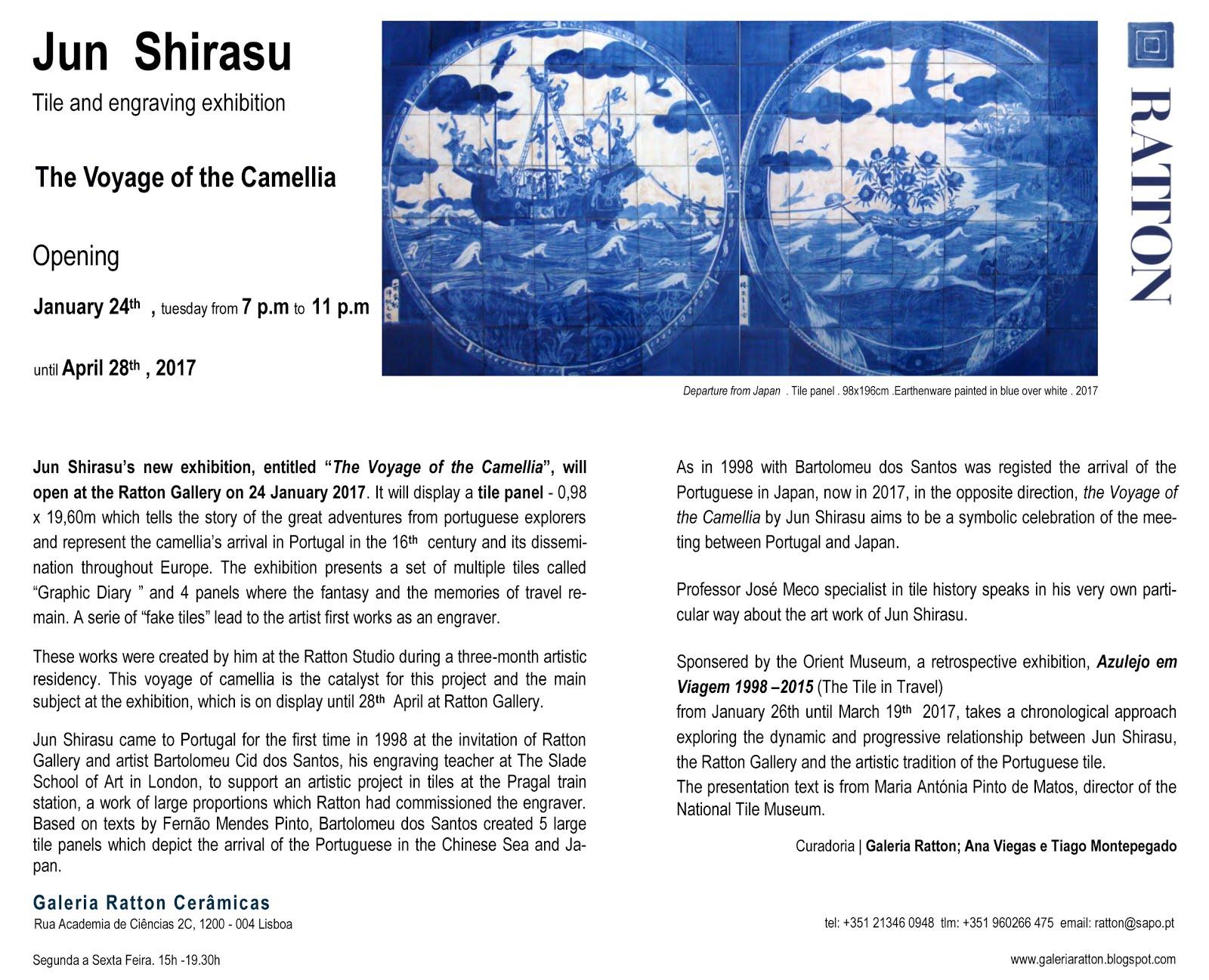 Jun Shirasu A viagem da Camélia