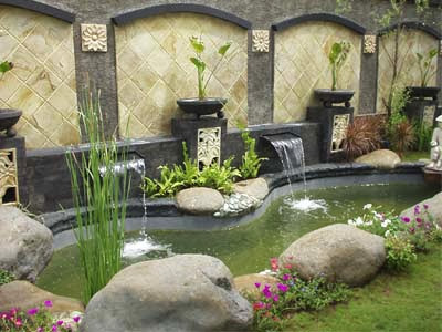 tukang kolam minimalis   tukang taman rumah