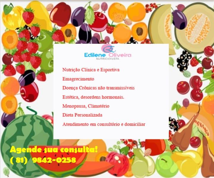 Dra. EDILENE OLIVEIRA - Click na imagem, AGENDE SUA CONSULTA