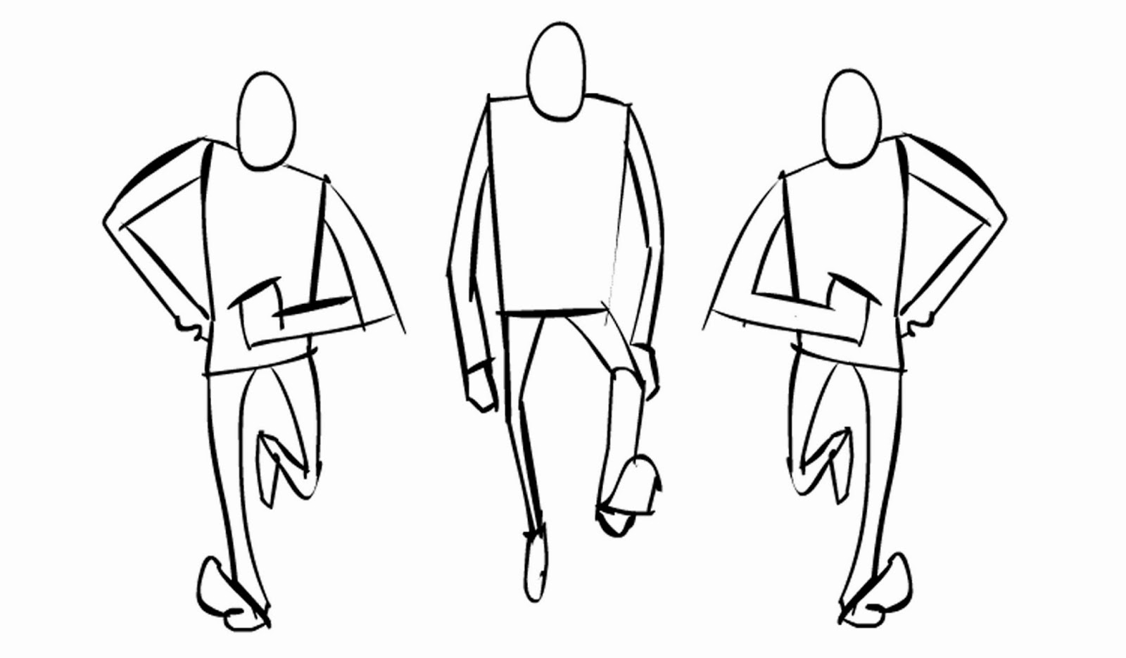James White Toons: Fabulous Running man test...