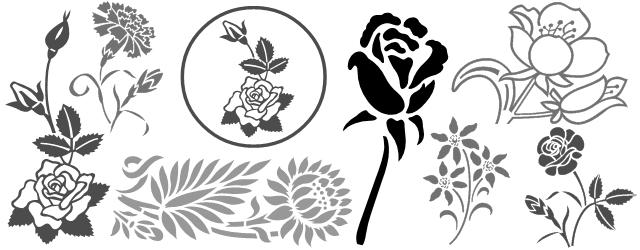 Decorative border font shreel54