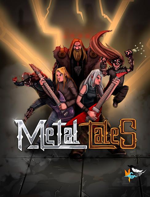 Metal Tales, toda la furia del Heavy Metal en un juego asturiano.