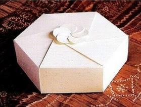 Cajita hexagonal para regalar, manualidades fáciles, manualidades para regalar