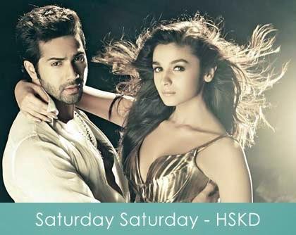 Saturday Saturday Song lyrics varun dhawan alia bhatt