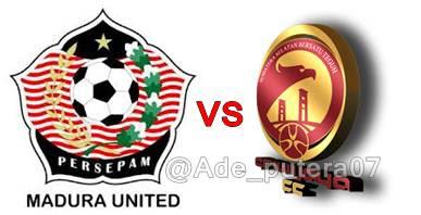 Persepam Madura United vs Sriwijaya FC