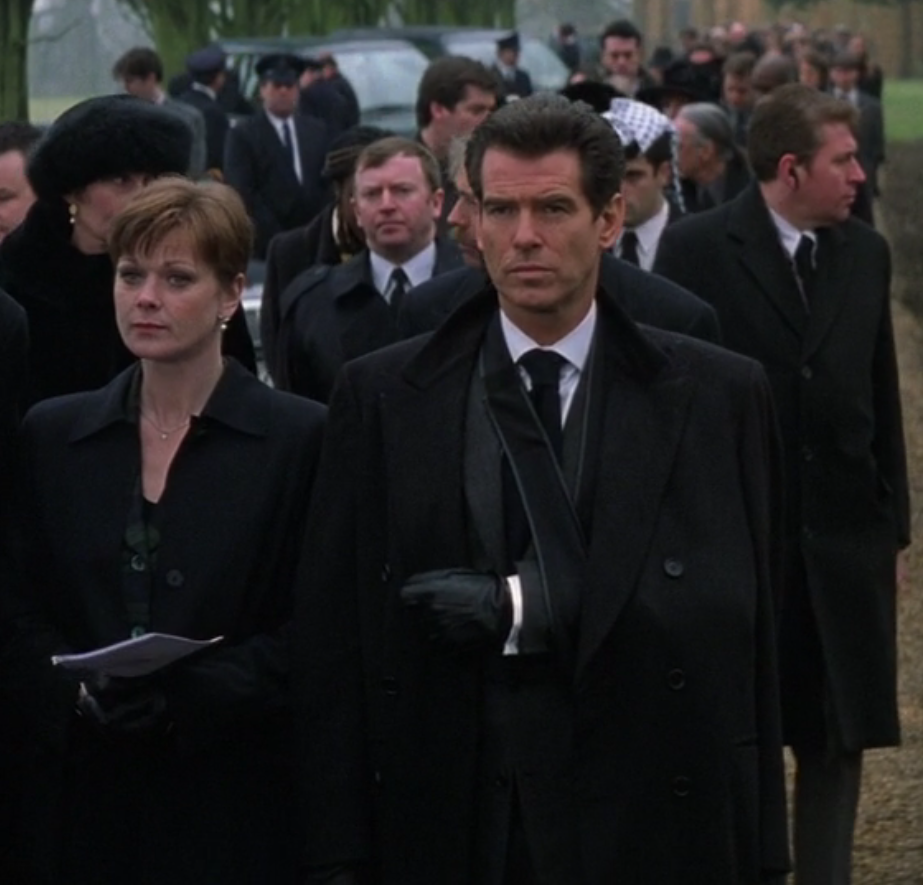 A Charcoal Double-Breasted Overcoat for a Funeral – The Suits of