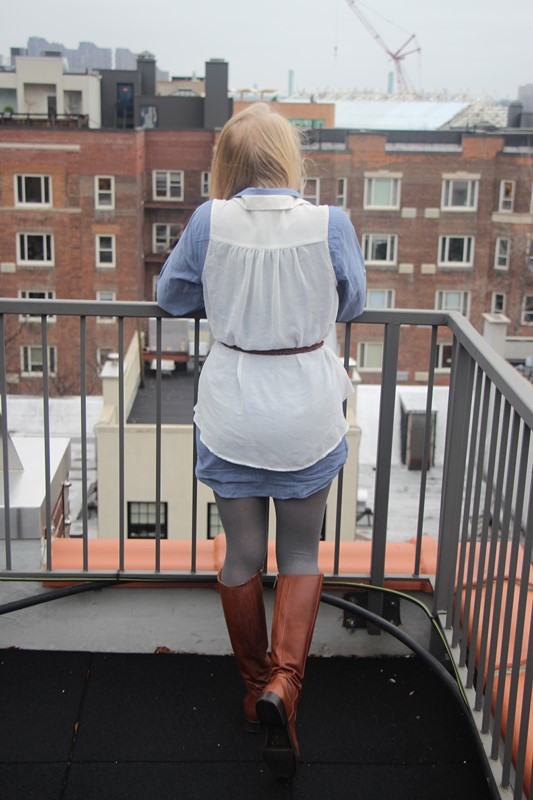 Li, a NYC and Scottish lifestyle blogger writes about her outfit featuring Ted and Muffy boots, ASOS, J Crew and Topshop