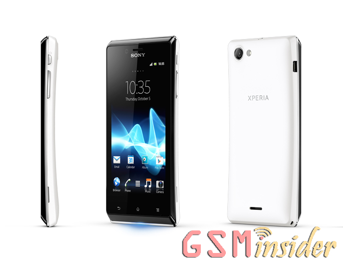 Sony Xperia J Coming To UK via Clove On End Of October ... Xperia J Gold