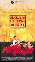 EL CLUB DE LOS POETAS MUERTOS (PETER WEIR, 1989): La relación maestro-discípulo.