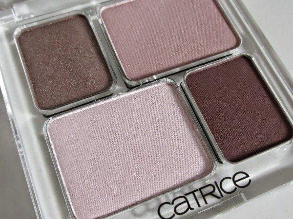 Catrice Absolute Eye Colour Quattro - F'rosen Yoghurt review