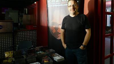 [édition du 07/10/2013 :] Stefan Erbe au 6e festival Electronic Circus, Gütersloh, 05/10/2013 / photo S. Mazars