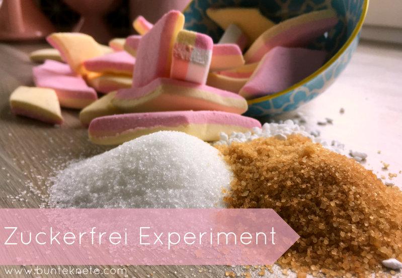Das Zuckerfrei Experiment