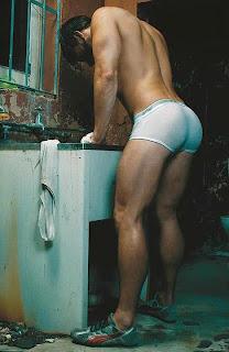 en el lavadero