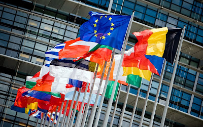 europa, banderas, flag, europe,