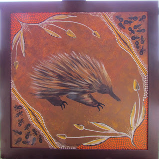 Echidna Aboriginal Painting