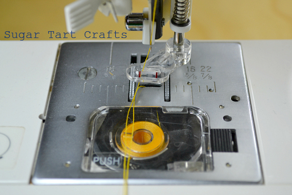 Machine setup for free motion embroidery