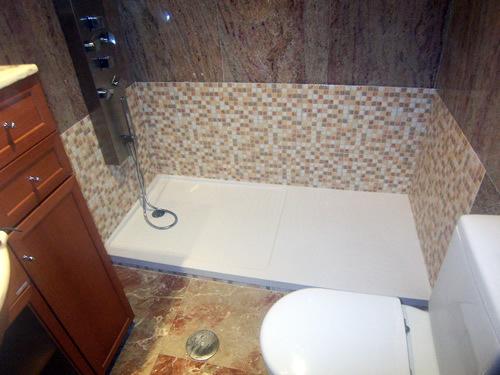 Coloco ducha sin obras cambio de ba era por plato de for Cambiar banera por ducha sin obras