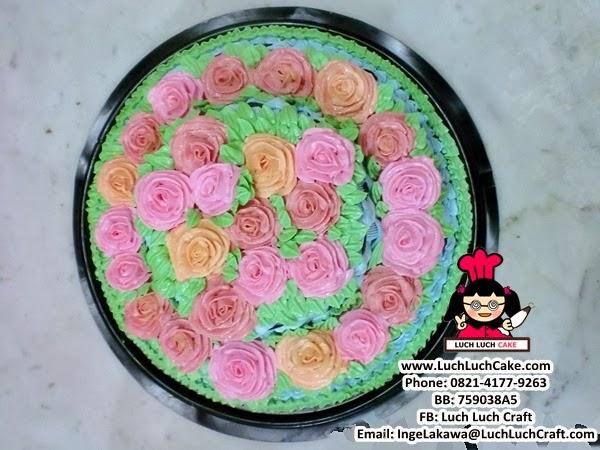 Jual Kue Tart Mawar Cantik Daerah Surabaya dan Sidoarjo