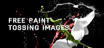 空中の液体をハイスピードカメラで撮影したような無料画像素材集。立体的な陰影も鮮明。