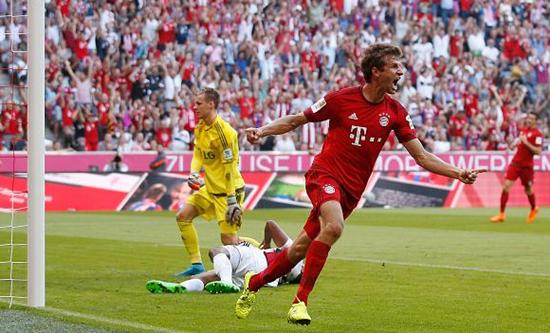 Bayern de Munique 3 x 0 Bayer Leverkusen - Campeonato Alemão(Bundesliga) 2015/16