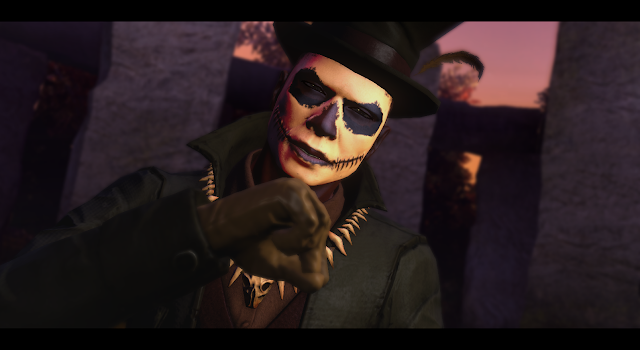 You can't fool me, Junkyard Edgar; great costume, though.