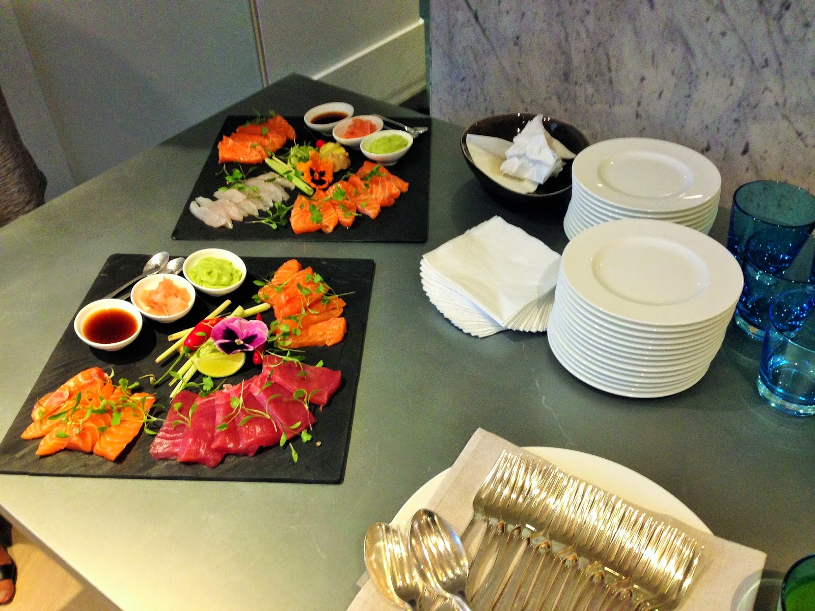 Sashimi at London Fashion Week