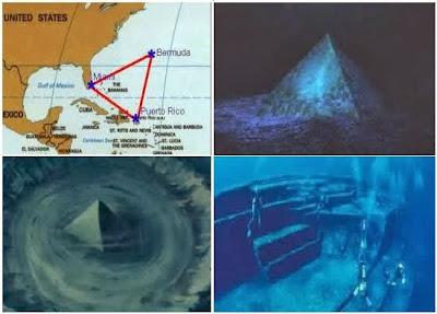 Ada Piramida Besar di Segitiga Bermuda Jauh Lebih Besar daripada Piramida di Mesir