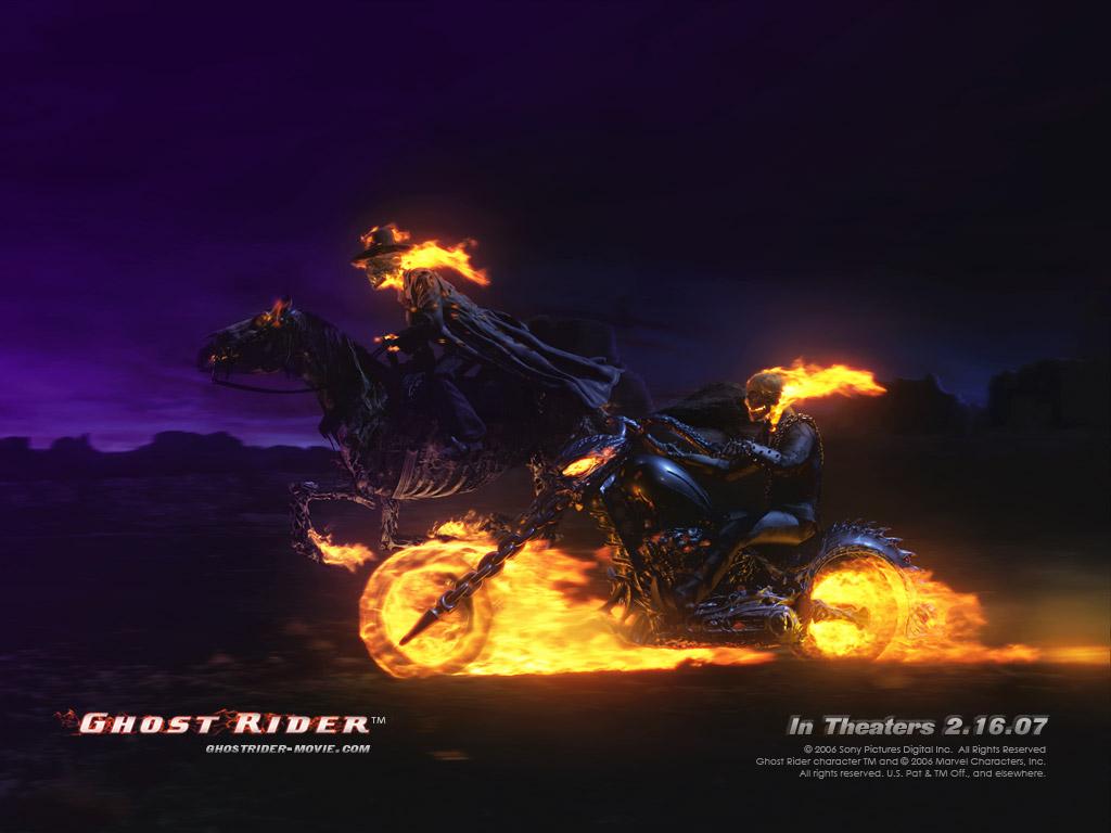 Flambeado de Moe Ghost-rider