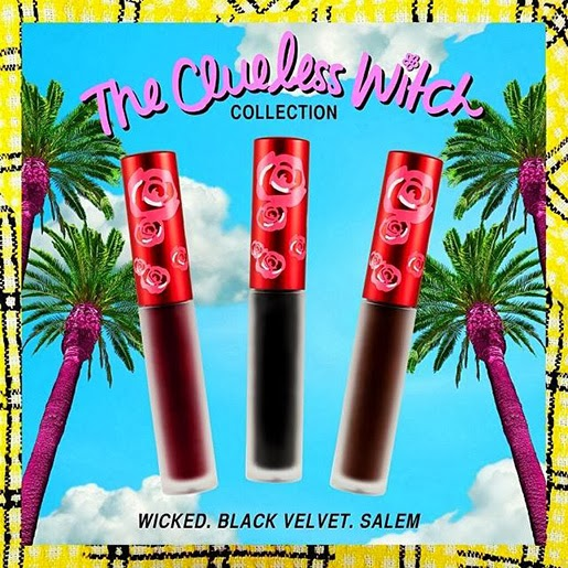The Clueless Witch Lime Crime Wicked Black Velvet Salem