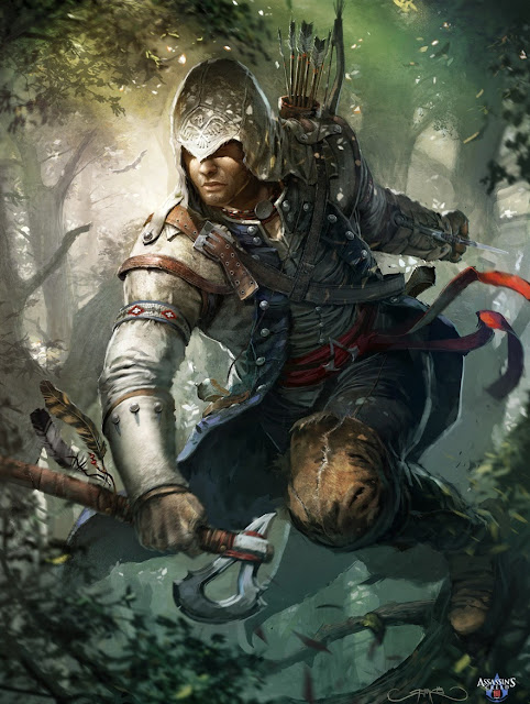 connor kenway, Assassin's Creed,eagle