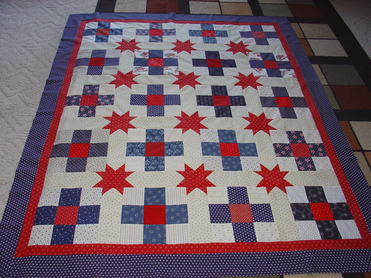 Treadlestitches: Quilt of Honor---Free Pattern