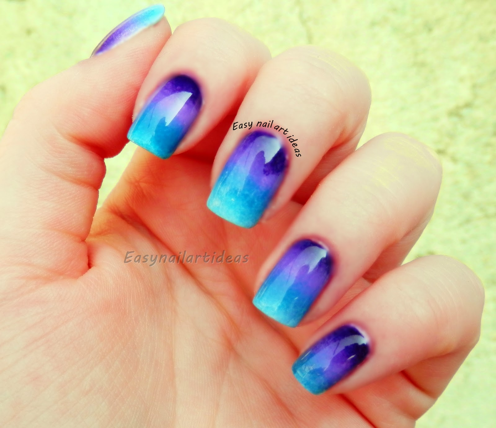 Easy Nail Art And Make Up Ideas How To Ombre Nail Art